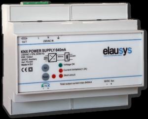 Elausys PS-640 - KNX Power Supply 640mA